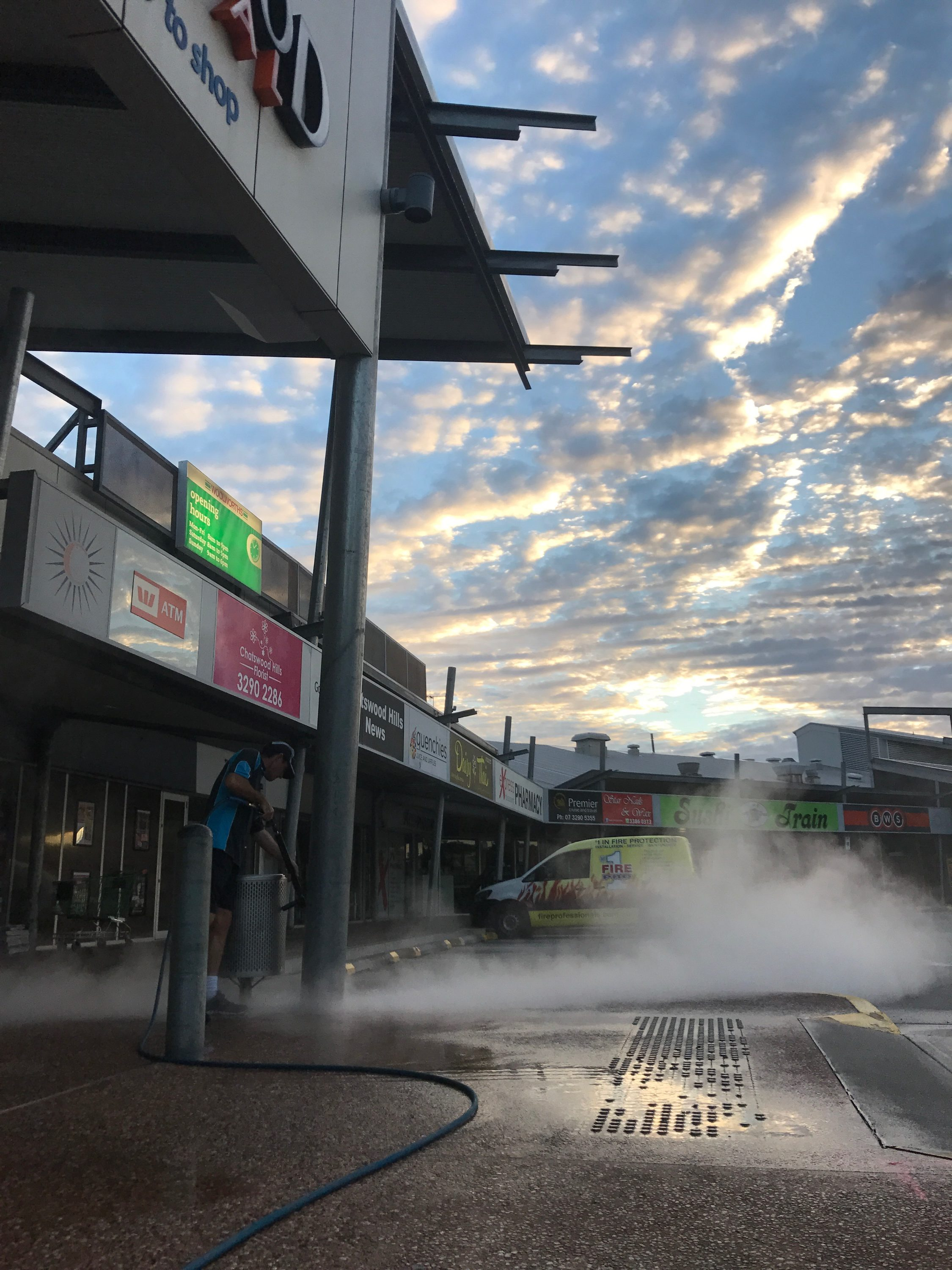 Commercial High Pressure Cleaning Brisbane