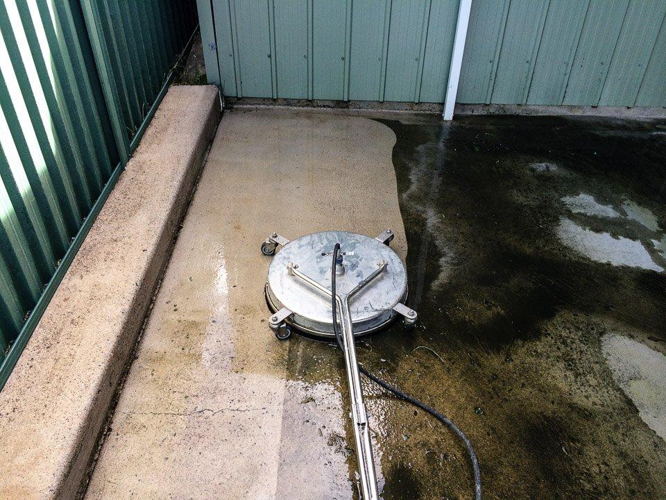 Patios, Decks & Courtyards Pressure Cleaning- Before